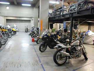 バイク駐車場 西五反田・不動前