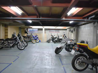 バイク駐車場 豪徳寺/松原の月極バイク駐車場