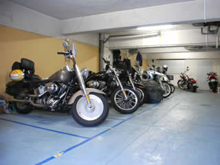 バイク駐車場 市ヶ谷 神楽坂