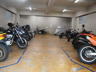 バイク駐車場 池尻大橋
