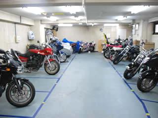 バイク駐車場 菊川駅前