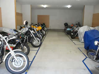 バイク駐車場 清澄白河