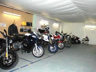 バイク駐車場 駒沢公園の月極バイク駐車場