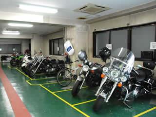バイク駐車場 日本橋、箱崎