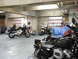 バイク駐車場 横浜の月極バイク駐車場