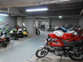 バイク駐車場 代々木 初台 参宮橋の月極バイク駐車場