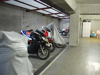 バイク駐車場 祐天寺